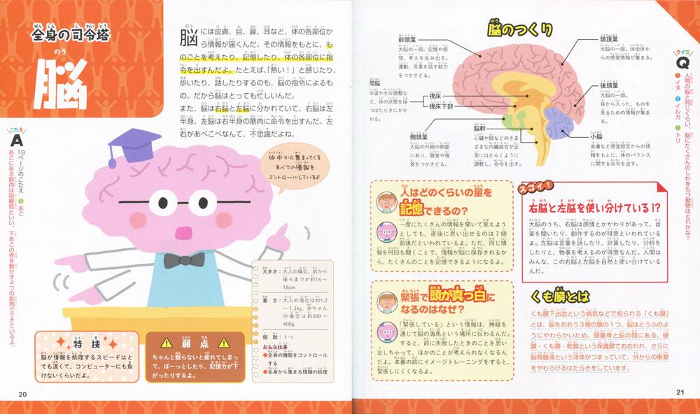 キャラクターでわかる人体 脳